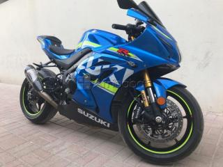 Available here suzuki gsxr 1000cc 2017 and hayabusa 2005 gray color
