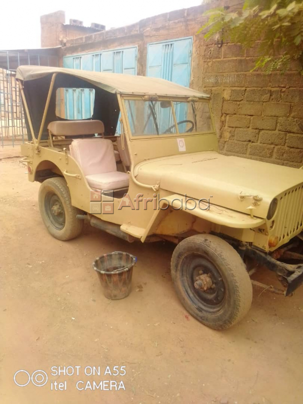 vehicule Jeep Willys #1