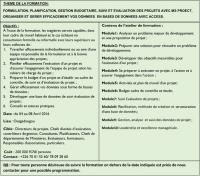 SEMINAIRE FORMATION: PLANIFIER EFFICACEMENT VOS PROJETS