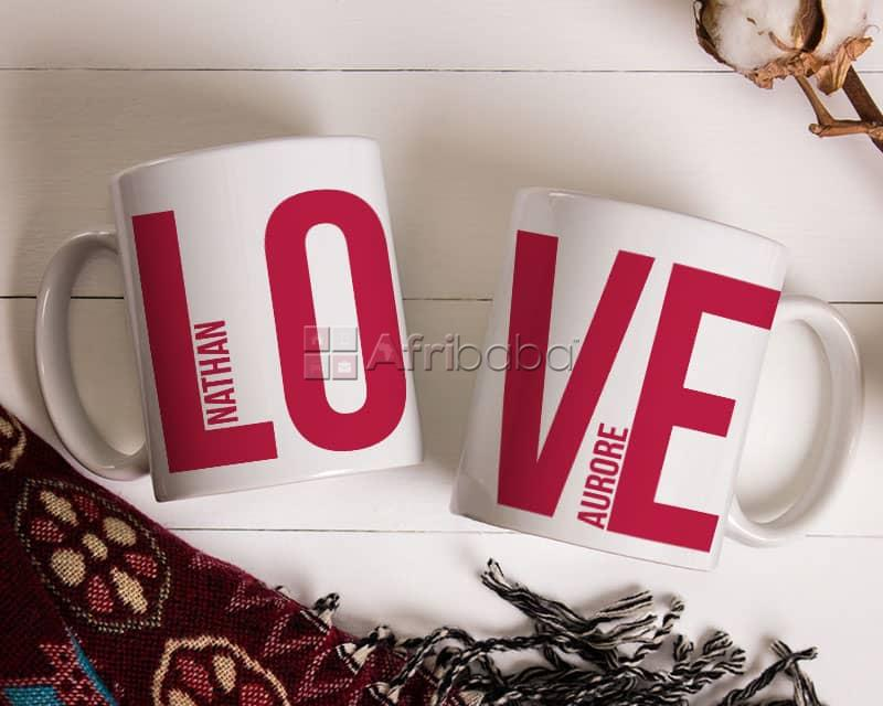 Impression sur mug simple et magique #1
