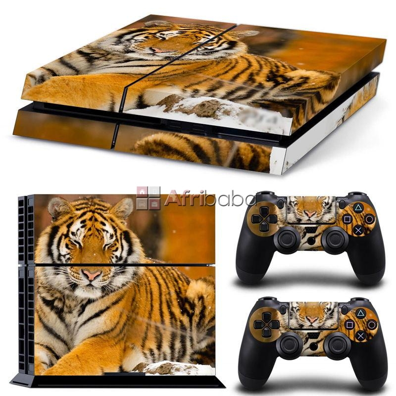 Ps4 stickers : lonely tiger