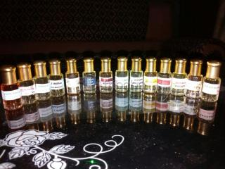 Essences de parfum