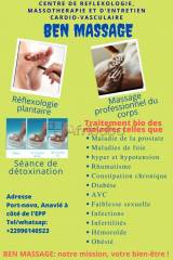 Ben massage: finies les maladies degeneratives