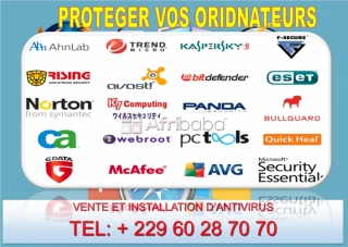 Installation d'antivirus pour  la protection de vos ordinateurs