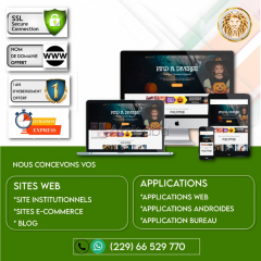 Conception Site Internet et Applications