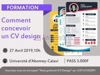 Formation en conception de cv professionnel