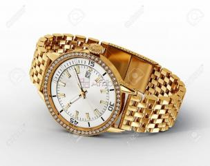 Montre en or d'homme