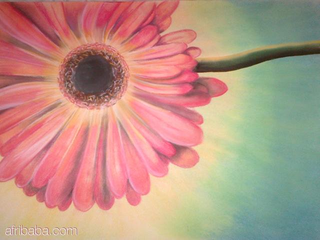 Barb in Soft Pastel  #1