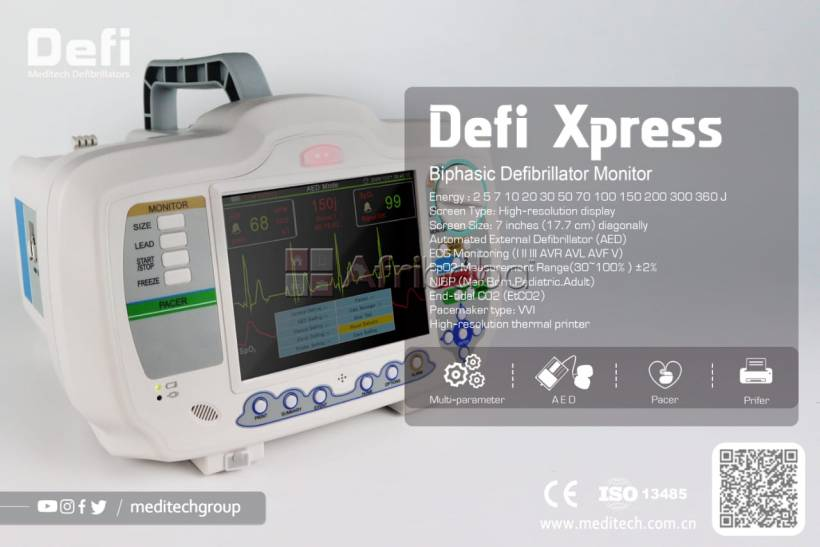 China Factory Upgrade Professional Manufacture Defibrillator Monitor #1