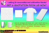 Sublimation Blanks and Other Printing Consumables