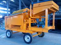 MOBILE GOLD TROMMEL WASHING PLANT