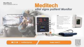 China manufacture high-precision excellent portable vital signs monito