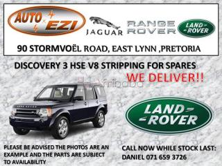 Land rover discovery 3 stripping for spares