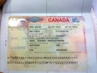 Residence permit and Canadian visa (documents_online@net-c.ca)