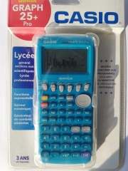 Calculatrice casio graph 25+