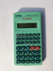 Calculatrice casio fx junior