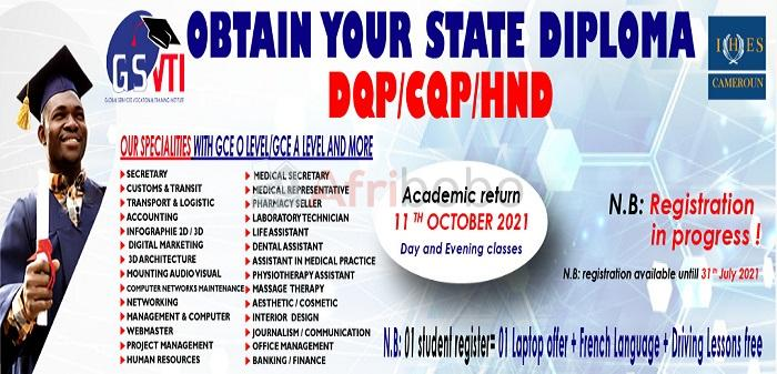 Obtain your State Diploma in Banking / Finance