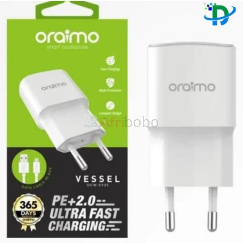 Chargeur oraimo type c - ultra rapide #1