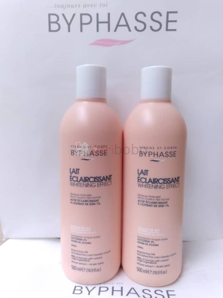 Byphasse lait eclaircissant #1