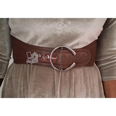 Ceinture large marron #1