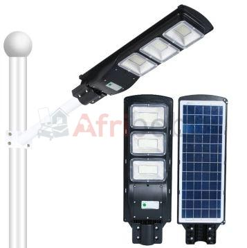 lampadaire solaire intelligent all in one 100w