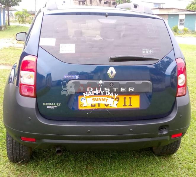 Renault Duster 2018 sortie Tractafric immatriculée