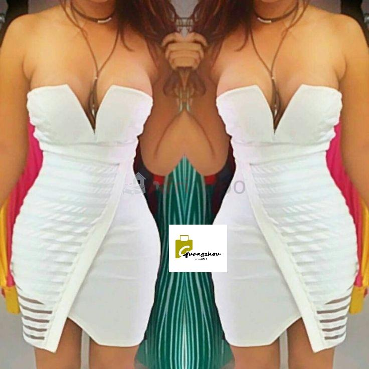 Robe coupe coeur blanche