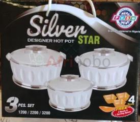 Ensembles cook & bakeware Designer Hot Pot Star