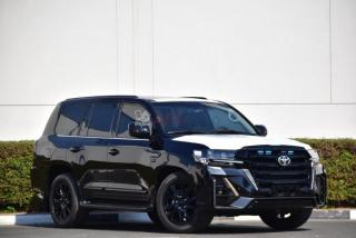 Toyota land cruiser 200 vx v8 5.7l black edition modèle 2021