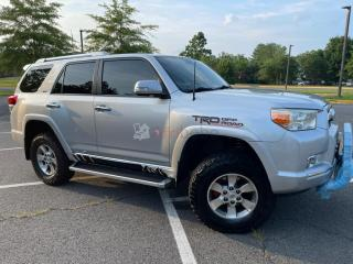 Toyota 4runner sr5 with 3rd row seat 2011