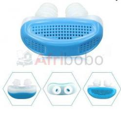 Dispositif 2 en 1 anti ronflement et purificateur d'air en silicone