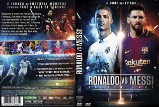 Dvd documentaire - ronaldo vs messi (63 min)