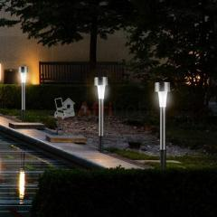 Lampes solaires à led blanches