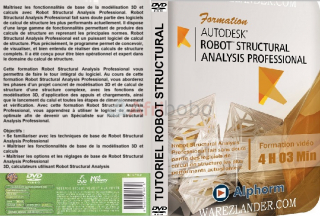 Dvd alphorm – formation robot structural analysis professional : 4h 03