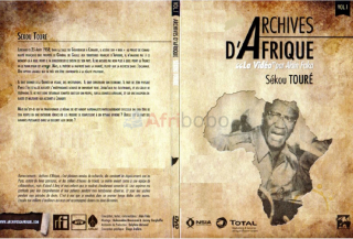 Dvd documentaire - sekou toure : archives d'afrique - 1h 15 min