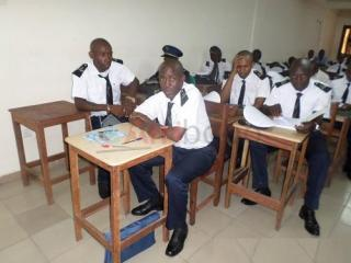 Vocational training in naval electricity
