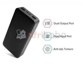 Power bank  20000mah 45w max sortie charge rapide bidirectionnelle
