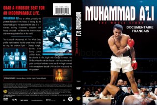 Dvd documentaire - mohamed ali  (92 min)