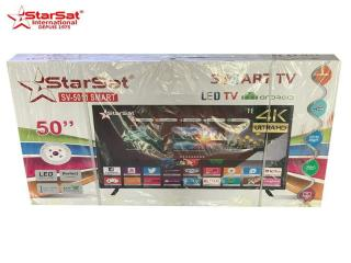 "Tv starsat 50"" - smart led ultra 4k"