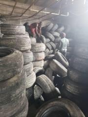 Large stock of fairly use tyres from germany available