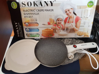 Electric crepes maker