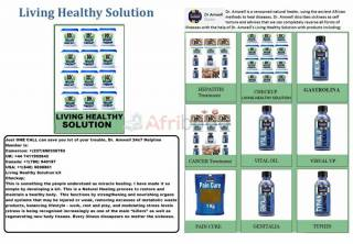 Living Healthy solution nourishing organs and systems that may be weak