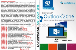 Dvd multimédia - outlook 2016