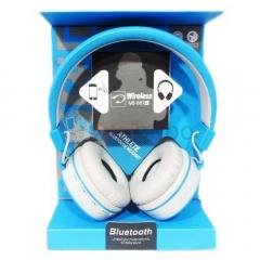 Ms-881 a wireless bluetooth headphone with fm and sd card slot