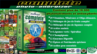Complete phyto energizer (complément alimentaire)
