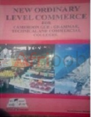 New ordinary level commerce for cameroon gce level form 5