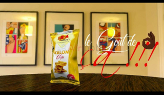 Chips kelon mûr made in mboa - 30g x250..