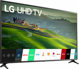 "Tv smart lg - 55"" - full hd - noir - 12 mois"