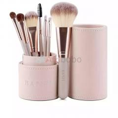 Kit de pinceaux de maquillage 7pcs + etui
