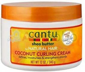 Cantu Shea Butter for Natural Hair Coconut Curling Cream,340g